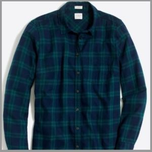 NEW J Crew Button down flannel - Petite